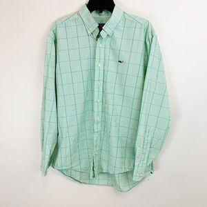 Vineyard Vines Whale Button Down Plaid Shirt